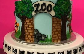 Zoo Layer Cake