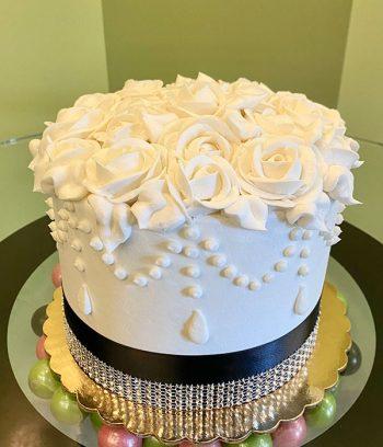 Ana Layer Cake - White