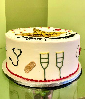 Medical Layer Cake - Back