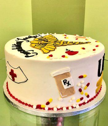 Medical Layer Cake - Side