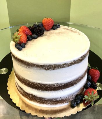Naked Layer Cake - Assorted Berries