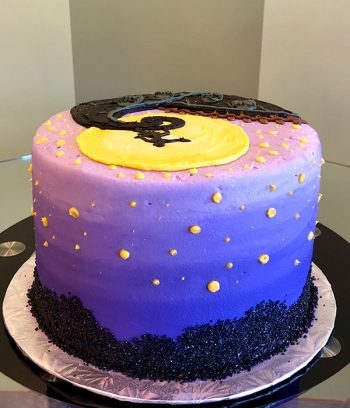 Nightmare Before Christmas Layer Cake - Back