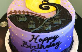 Nightmare Before Christmas Layer Cake
