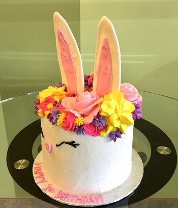 Bunny Rabbit Layer Cake - Side