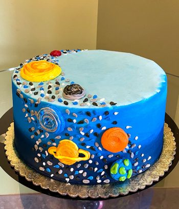 Outer Space Layer Cake