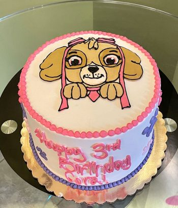 Paw Patrol Layer Cake - Skye
