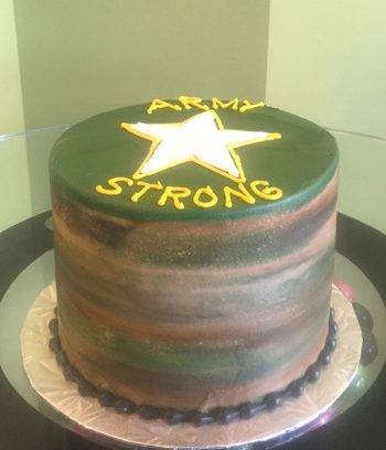 Army Layer Cake