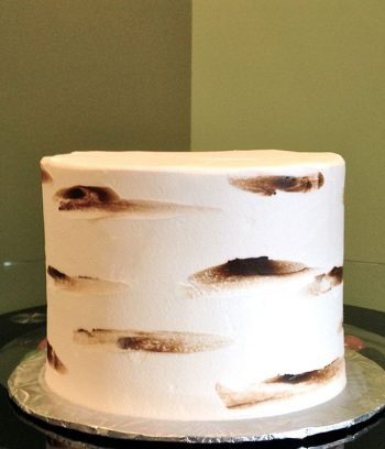 Birch Tree Layer Cake - Back