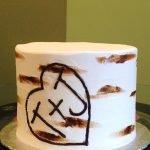 Birch Tree Layer Cake