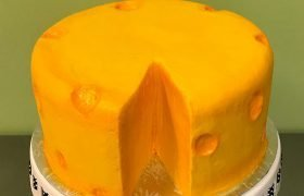Cheesehead Layer Cake - Front