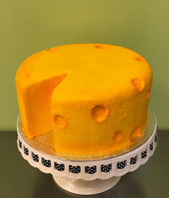 Cheesehead Layer Cake - Right Side