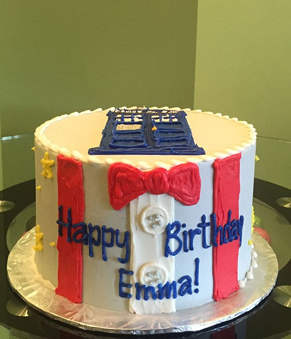 Doctor Who Layer Cake