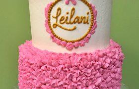 Frills & Ruffles Tiered Cake