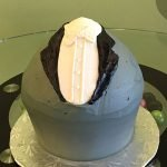 Giant Cupcake Grooms Cake