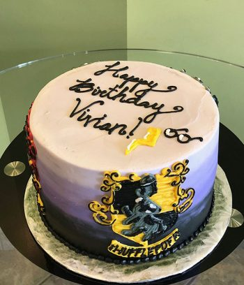 Harry Potter Layer Cake - Top