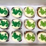 Lizard Cupcakes