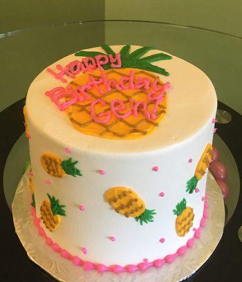 Pineapple Layer Cake - Top