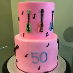 Rock Star Tiered Cake