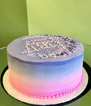 Stardust Layer Cake - Back