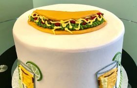 Tacos & Tequila Layer Cake