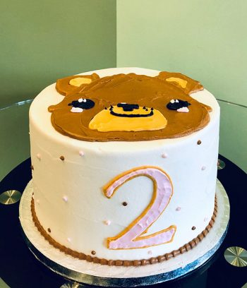 Teddy Bear Layer Cake
