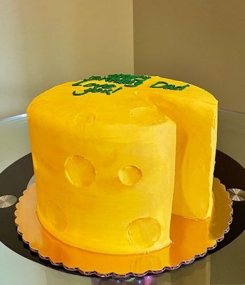 Cheesehead Layer Cake