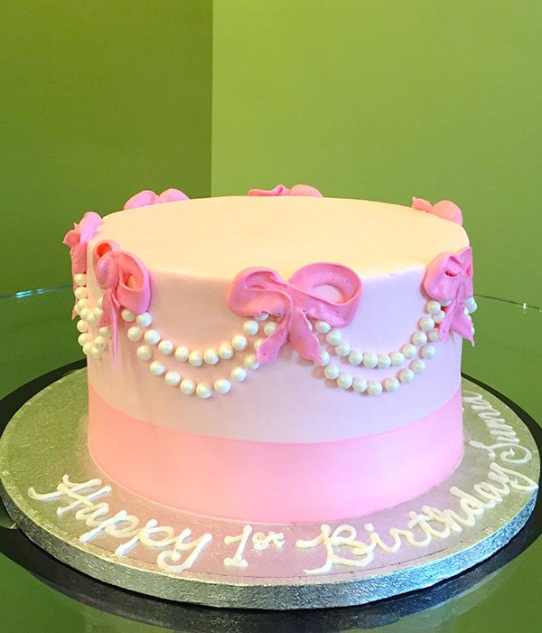 Pearl Bow Layer Cake
