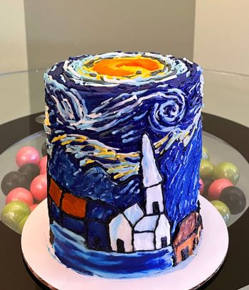 Starry Night Layer Cake
