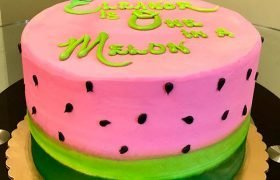 Watermelon Layer Cake