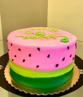 Watermelon Layer Cake - Side