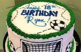 Soccer Layer Cake