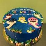 Baby Shark Layer Cake