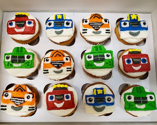 Blaze and the Monster Machines Cupcakes