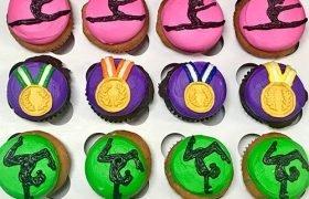 Gymnastics Cupcakes