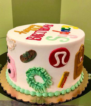 VSCO Girl Layer Cake - Side