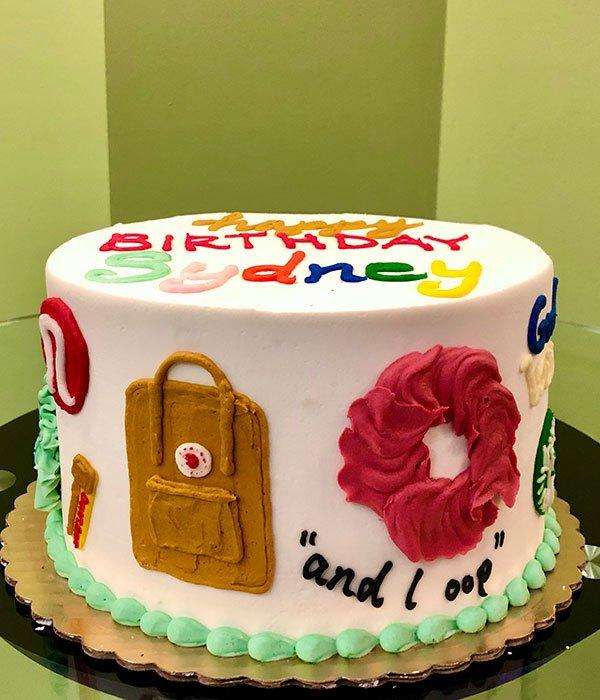 Enjoyable Vsco Girl Layer Cake Classy Girl Cupcakes Birthday Cards Printable Inklcafe Filternl