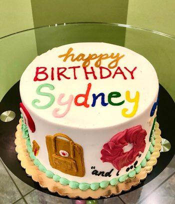 VSCO Girl Layer Cake - Top