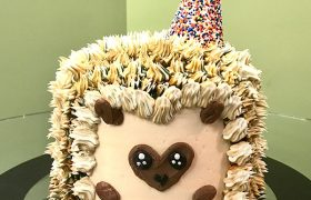 Hedgehog Layer Cake