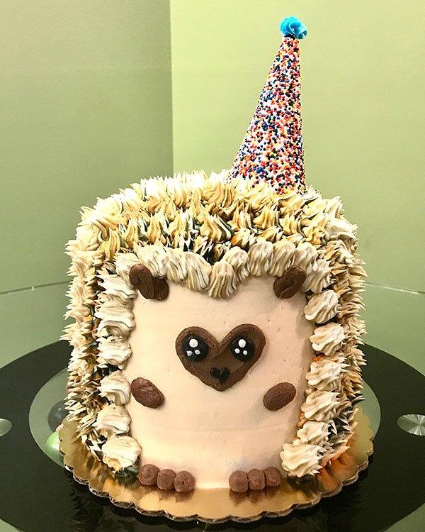 Hedgehog Layer Cake