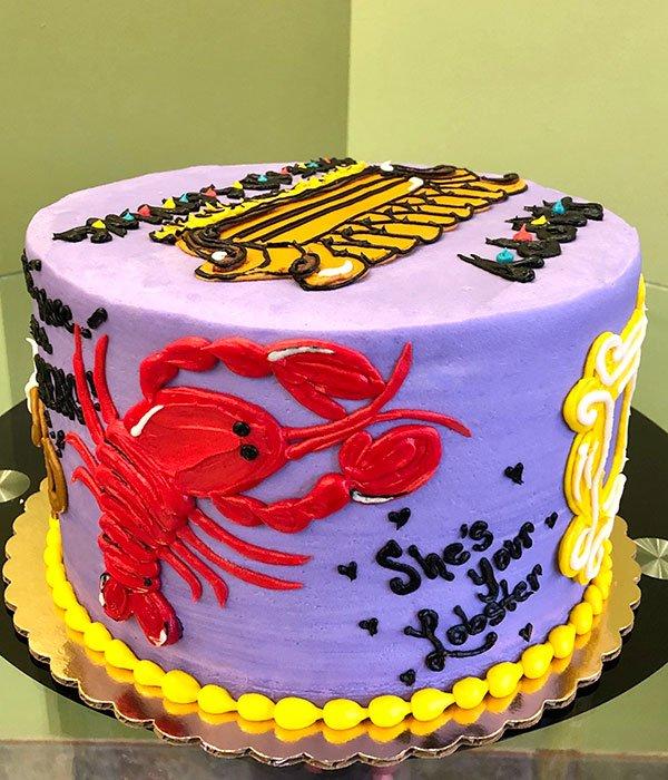 Astounding Friends Layer Cake Classy Girl Cupcakes Funny Birthday Cards Online Chimdamsfinfo