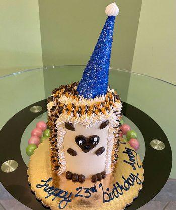 Hedgehog Layer Cake - Blue Horn