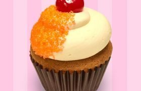 Brandy Old Fashioned Cupcake