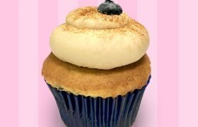 Blueberry French Toast Cupcake