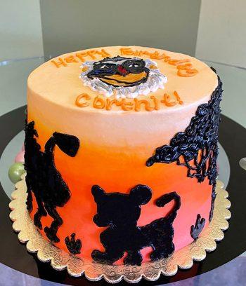 Lion King Layer Cake - Rafiki