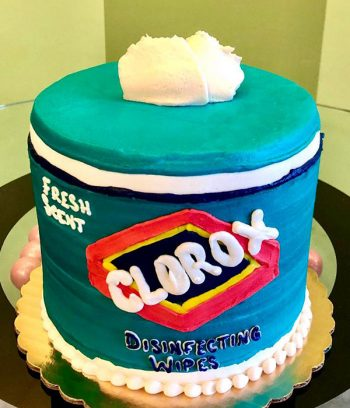 Clorox Wipes Layer Cake - Front
