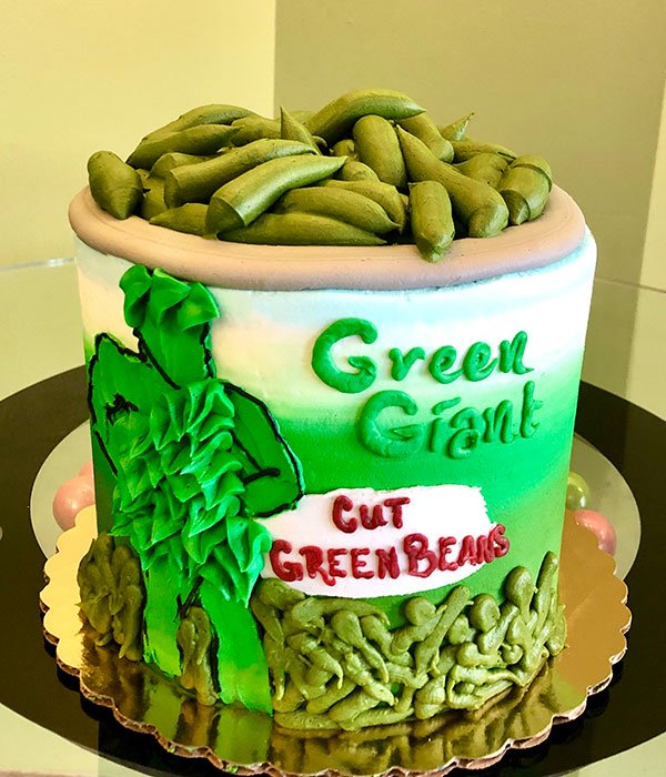 Green Beans Layer Cake - Front