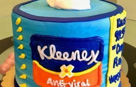 Kleenex Tissues Layer Cake