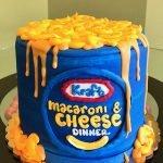 Kraft Macaroni & Cheese Layer Cake