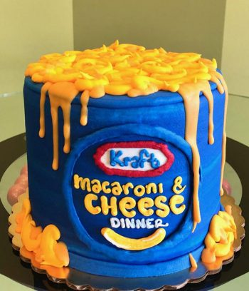 Kraft Macaroni & Cheese Layer Cake