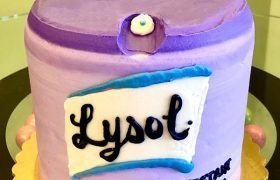 Lysol Disinfectant Layer Cake - Front